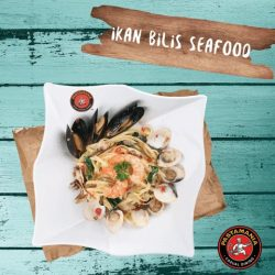 [PastaMania Singapore] Anchovies, known dearly to us as Ikan Bilis, may be tiny, but is mighty!