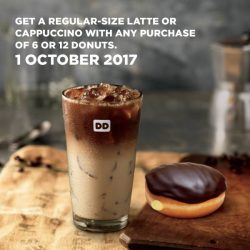 [Dunkin' Donuts Singapore] If you love coffee as much as we do, Global Coffee Day is just for you!