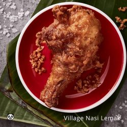 [foodpanda] I love to have a juicy and crispy chicken leg with my Nasi Lemak, how about you?
