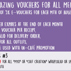 [Simply Wrapps] Oct's 5x Amazing Voucher 3!