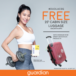 [Guardian] If you didn't already know, Duolac is currently running a free luggage promotion from now till 30th September when