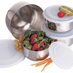 [Kitchen + Ware] 8-piece Zebra stainless steel containers at only $19.
