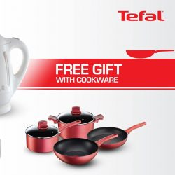 [Tefal] Enjoy great savings and redeem free gifts when you shop at department & electrical stores from now to 31 October.