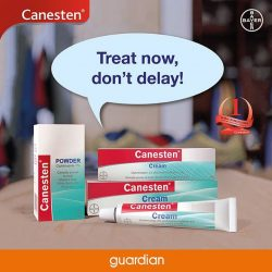 [Guardian] Canesten® offers complete foot care and antifungal foot treatment clinically proven to treat Skin Fungal Infections.