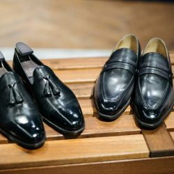 [STRAITS ESTABLISHMENT] Classical welted shoes with a contemporary flair at $280.