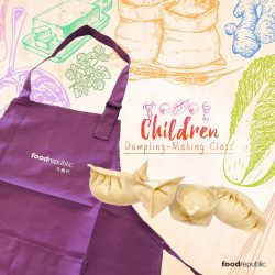 [Food Republic] Bring your kids over to Capitol Piazza on 9 September for a dumpling-making class and let them learn the