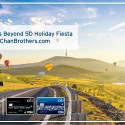 [Citibank ATM] A milestone worth celebrating with deals worth sharing at Chan Brothers Beyond 50 Holiday Fiesta this Sat & Sun (23 & 24