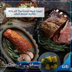 [Citibank ATM] The Great Meat Feast is back!