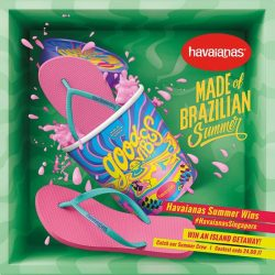 [H - The All Havaianas Store] Wanna win a FREE island getaway?
