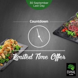 [Basil by ThaiExpress] It's the final week of our limited time offer!