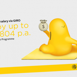 [Maybank ATM] Credit your salary into your Maybank SaveUp Account every month, and add 2 more products to earn up to S$