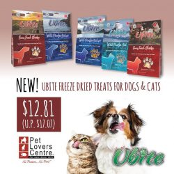 [Pet Lovers Centre Singapore] Nourish your dogs and cats naturally with these 100% natural, single ingredient freeze-dried treats derived from meats fit for
