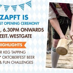 [Brotzeit German Bier Bar and Restaurant] Not to worry if you have missed our Keg Opening Ceremony yesterday at VivoCity.