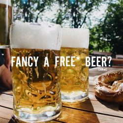[Marché Mövenpick Singapore] Raise your hands if you are craving for a glass of FREE* beer!