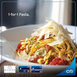 [Citibank ATM] Dine in a charming colonial setting at Masons this weekend!