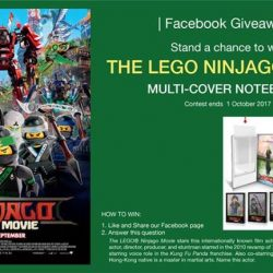 [Filmgarde Cineplex] Stand a chance to win The LEGO Ninjago Movie Premiums!
