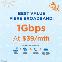 [M1] Grab the M1 Fibre Broadband 1Gbps offer at only $39/mth!