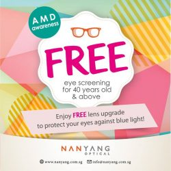 [Nanyang Optical] Age-related Macular Degeneration (AMD) is a progressive eye disease leading to vision loss in people aged 50 and above.