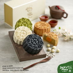 [Jack's Place] Mooncake is one asian delicacy that is highly irresistible.