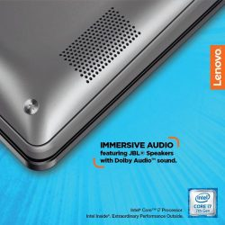 [Lenovo] Featuring cutting-edge JBL Premium Audio speakers, prepare to be blown away by immersive audio that flawlessly renders every decibel