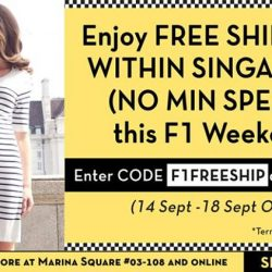 [Maternity Exchange] Enjoy FREE SHIPPING (no min spend) this F1 Weekend.