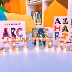 [The Little Skool-House] This season, our Early Literacy Centre's theme is 'Makers' Faire' where we will be focusing on creating letters with