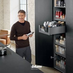 [Blum & Co] Enhance storage spaces with SPACE TOWER.