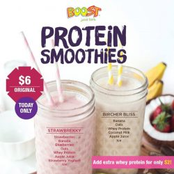 [Boost Juice Bars Singapore] Friday is made better with this sweet deal!