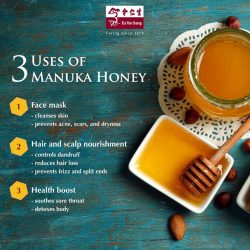 [Eu Yan Sang] Manuka honey is one of the most unique honeys in the world.