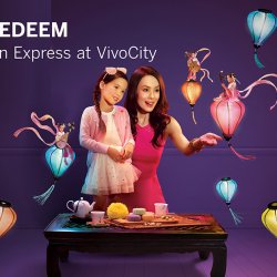 [American Express] From 5 Sep – 4 Oct 2017, simply spend S$200 at VivoCity with your American Express Card and get S$