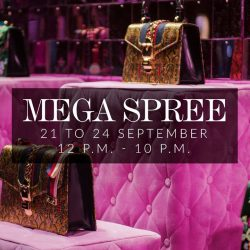 [Reebonz] Our Mega Spree is happening at Suntec City and VivoCity:Join us from 21 to 24 September and enjoy up