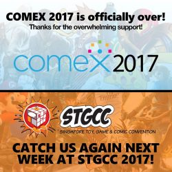 [GAME XTREME] COMEX 2017 is officially over, and here's a huge THANK YOU to everyone who dropped by!