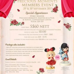 [Precious Thots] EVENT TICKET SALES & FIGURINES PRESELLING ENDS 24 SEPTEMBERHave secured your tickets yet to the Precious Moments Members Event?