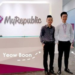 [Mr Shop/My Republic] FeelGoodFriday from our Star MyRepublic AmbassadorsMeet Yeow Boon (from left) and Marke, who have been in the MyRepublic Partner