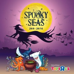 "[Babies'R'Us] Toys""R""Us is proud to be the ""Preferred Partner of Spooky Seas 2017""!"