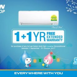 [Daikin Proshop PassionAir] Purchase your Daikin aircons at our authorized retail DAIKIN PROSHOPS, and enjoy exclusive deals*!