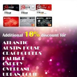 [Sports Connection] 10% DISCOUNT FOR PASSION CARD & SAFRA CARD MEMBER!
