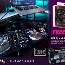 [PLAYe] New product: Hercules Universal DJ Controllers SRP$299 Free DJM 40.