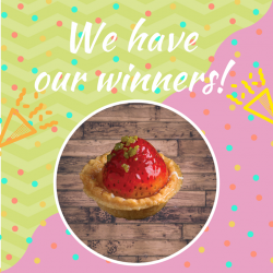 [Delifrance Singapore] Congratulations Fung Yee Tsai, Emma Awie and JR Tan for being the three lucky winners of our Catch the Fruit