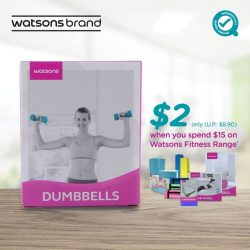 [Watsons Singapore] Not a fan of those expensive gyms?