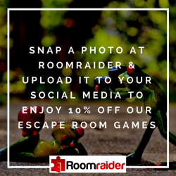 [Roomraider] Want 10% off our brand new games?