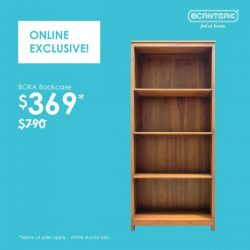 [Scanteak] For 3 more days only - pick up the Boka bookcase at an exclusive online clearance price!