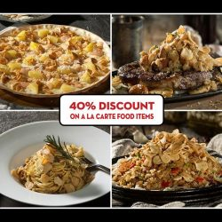[Mad for Garlic] Enjoy an irresistible 40% Discount on Mad for Garlic's a la carte food items from now until 30 September