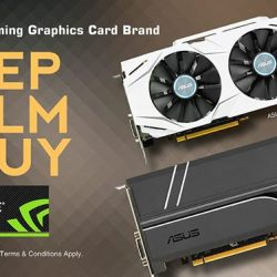 [ASUS] Keep calm and shop for ASUS NVIDIA GeForce GTX 1070 and 1080 Graphics CardLimited Time Offer: ASUS Dual GeForce