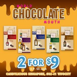 [Candylicious] We are celebrating World Chocolate Month this September!