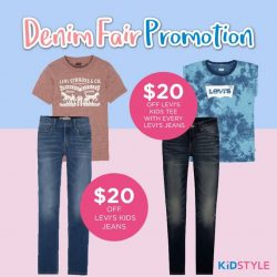 [KidStyleSg] Denim will never go out of style!