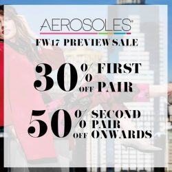 [Aerosoles] For 3 days only!