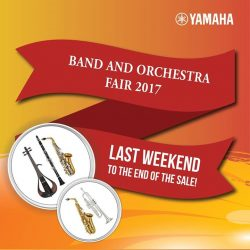 [YAMAHA MUSIC SQUARE] Counting down to last 3 days of B&O Fair 2017!