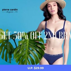 [Pierre Cardin] Great news for TGIF: Buy any bra from the Essential collection and get the 2nd at 50% off (U.