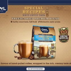 [Owl Café] Drink your coffee with a peace of mind!